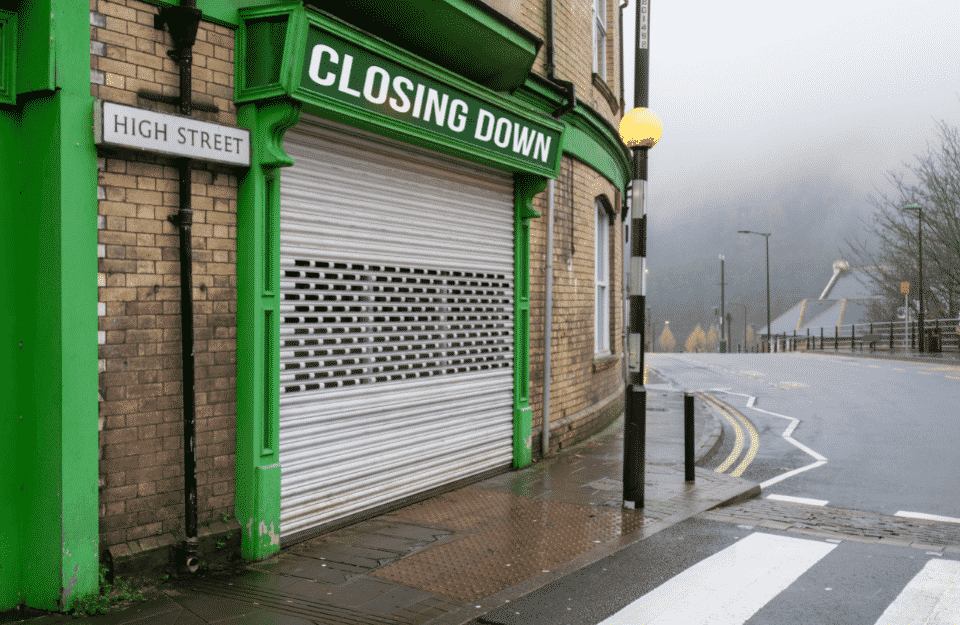 Things To Consider When A Business Is Closing Down